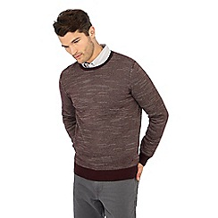 Mantaray - Wine feeder stripe cotton jumper