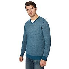 Mantaray - Blue feeder stripe jumper