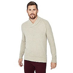 Mantaray - Natural textured knit jumper