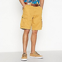 Mantaray - Yellow Cargo Shorts