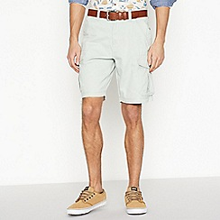 Mantaray - Pale Green Cargo Shorts