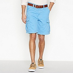 Mantaray - Bright Blue Cargo Shorts