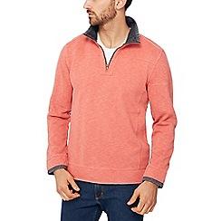 Mantaray - Peach pique sweater