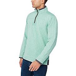Mantaray - Bright green pique sweater