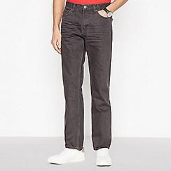 Mantaray - Dark Grey Straight Leg Jeans