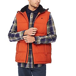 Mantaray - Orange padded gilet