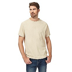 Mantaray - Big and tall natural textured jersey t-shirt