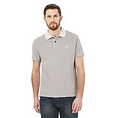 Mantaray - Big and tall cream heavy pique polo shirt