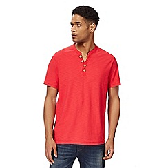 Mantaray - Red Y neck t-shirt