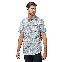 Mantaray - Big and tall multicoloured floral print shirt