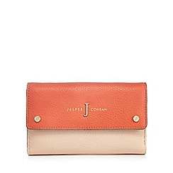 J by Jasper Conran - Light pink colour block purse