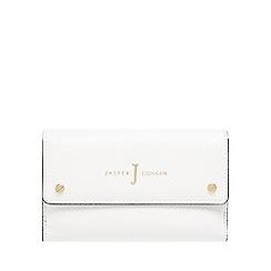 J by Jasper Conran - White colour block purse