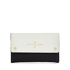 J by Jasper Conran - Navy and white colour block purse