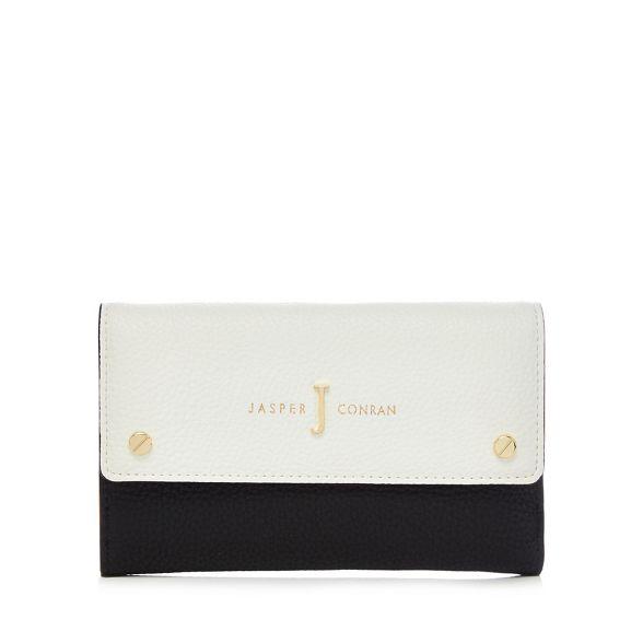 colour white by J block Navy Jasper Conran purse and OUFFq4w