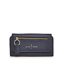 J by Jasper Conran - Navy zip front large purse