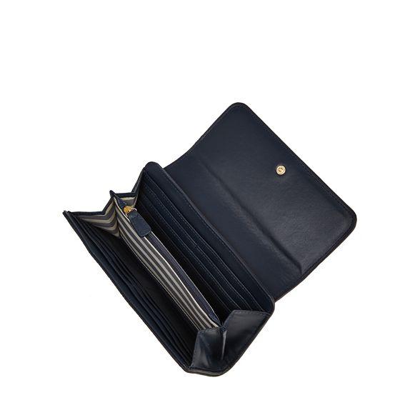 zip purse large by Jasper J Conran Navy front PIvFAwq