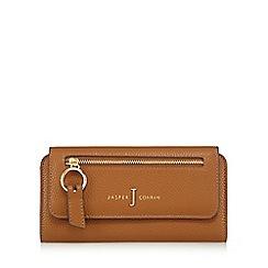 J by Jasper Conran - Tan zip front large purse