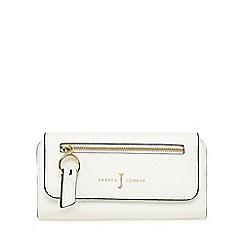J by Jasper Conran - White zip front large purse