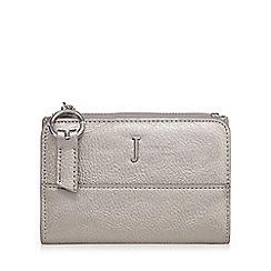 J by Jasper Conran - Metallic fold over small purse