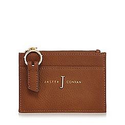 J by Jasper Conran - Tan zip coin purse