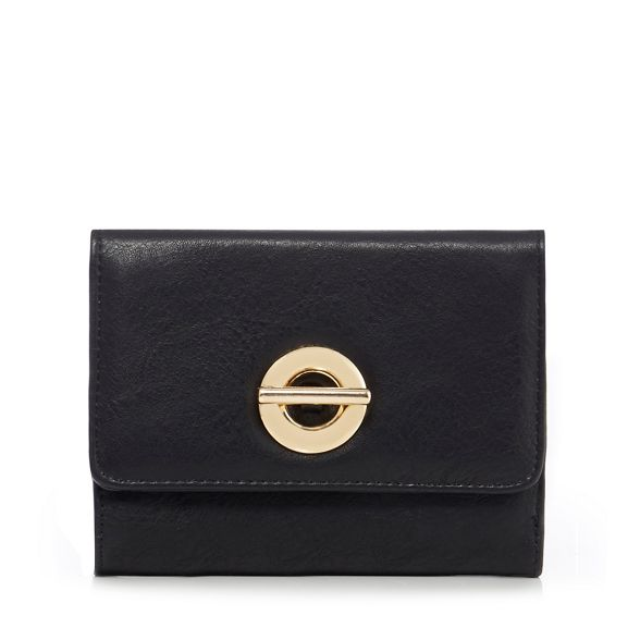 The purse Collection detail circular square Black THnxOH