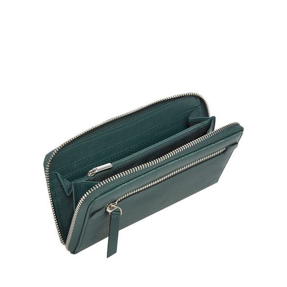 purse The Collection Green large leather TP8Rxn