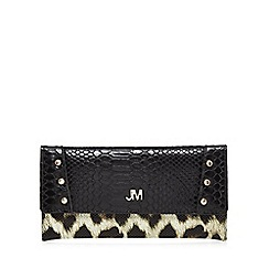 Star by Julien Macdonald - Black croc-effect purse