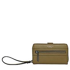 Fiorelli - Olive Abbey ziparound wallet