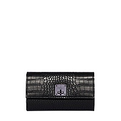 Fiorelli - Black Chiltern turnlock dropdown purse