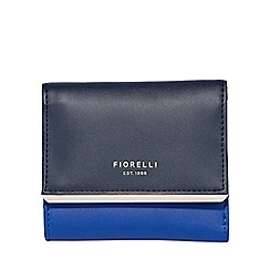 Fiorelli - Blue addison small frame dropdown purse