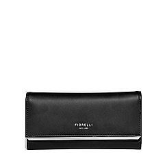 Fiorelli - Black addison large frame dropdown purse