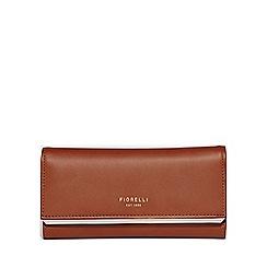 Fiorelli - Tan addison frame large frame dropdown purse