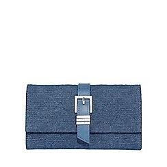 Fiorelli - Blue hammersmith flapover purse