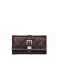Fiorelli - Plum 'Hammersmith' flapover purse
