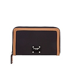 Principles - Black zip around purse