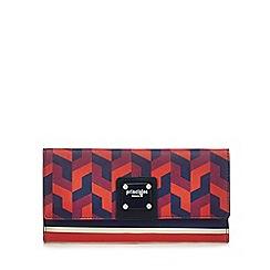 Principles - Multi-coloured mixed print fold over purse