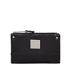 Principles - Black small fold over purse