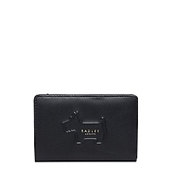 Radley - Shadow black medium zip-top purse