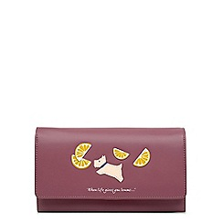 Radley - Lemons pink large flapover matinee purse