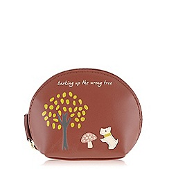 Radley - The wrong tree red small zip around coin purse