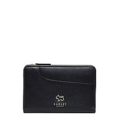 Radley - Pockets black medium zip around purse