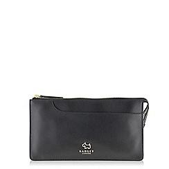 Radley - Pockets black large flapover matinee purse