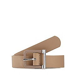 The Collection - Natural buckle belt