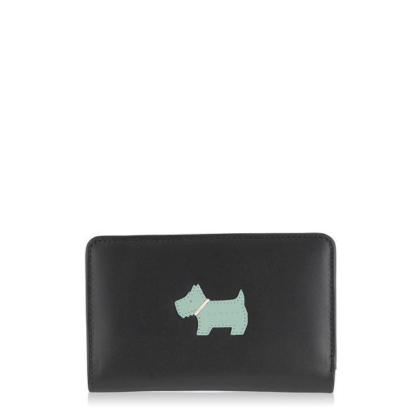 purse dog zip medium Heritage Radley black 6fATXwqn5