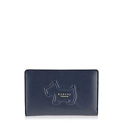 Radley - Shadow navy medium zip-top purse