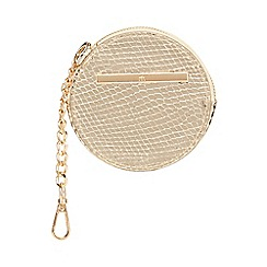 Red Herring - Gold round coin purse