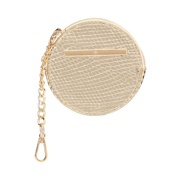 coin Gold Herring Red purse round qfOwY