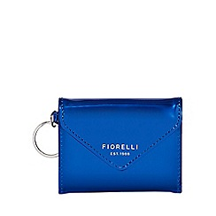 Fiorelli - Blue robin id holder keyring