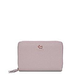 Radley - Grey ashby road medium zip around matinee purse