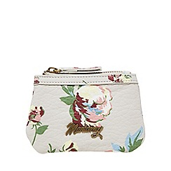 Mantaray - Grey floral print coin purse